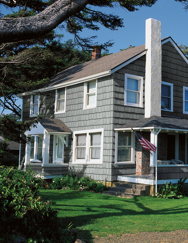 Colonial Home in Stoneham, MA Siding Contractor